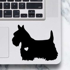 Scottish Terrier Dog Sticker - Laptop Decal