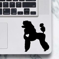 Poodle Dog Sticker - Laptop Decal