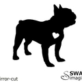 French Bulldog Dog Sticker - Laptop Decal