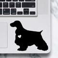 English Cocker Spaniel Dog Sticker - Laptop Decal