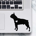 Boston Terrier Dog Sticker - Laptop Decal