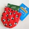 Squeeze pouch / Bird -PINK