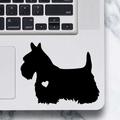 Scottish Terrier Dog Sticker - Laptop Decal
