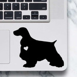English Cocker Spaniel Dog Sticker - Laptop Decal