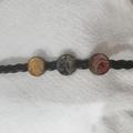 Leather Bracelet - Metallic