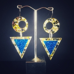 Triangle earings