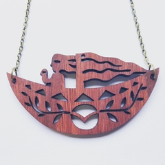 'Girl in Boat' Pendant