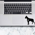 Boxer Sticker - Laptop Decal - Boxer design #1