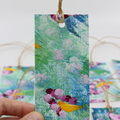 Hand Painted Gift Tags - Pack of Ten - Spring Garden