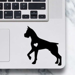 Boxer Sticker - Laptop Decal - Boxer design #2
