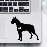 Boxer Sticker - Laptop Decal - Boxer design #1