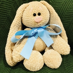 Crocheted Plush Cuddle Bunny