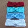 HEADBANDS FOR BABIES TO FIT 0 TO 6 MONTHS.