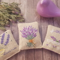 Crossstitched lavender sachet,Housewarming gift,Lavender fragrance,Mother's Day