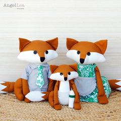Fox Family Sewing Pattern | PDF