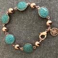 Teal Prills bracelet
