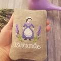 Cross stitched lavender sachet,Lavender sachets, Lavender fragrance