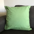 Green Leaves Cushion (inc insert)