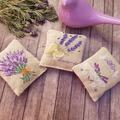 Crossstitched lavender sachet,Housewarming gift,Lavender fragrance