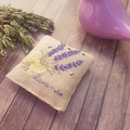 Crossstitched lavender sachet, Lavender fragrance, Mother's Day Gift