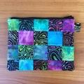 Batik Patchwork Purse