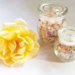 Vanilla Rose Bath Salts (Small)