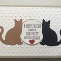 Cat Pet bereavement  Sympathy Card - free post