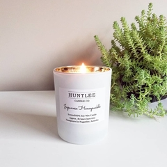 Luxe Medium scented 100% soy wax tumbler candle, 180g, 16 fragrances