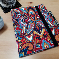 A5 Gypsy Spice Journal Cover with Elastic Closure