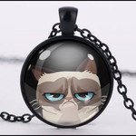 :: CLEARANCE :: GRUMPY CAT PENDANT
