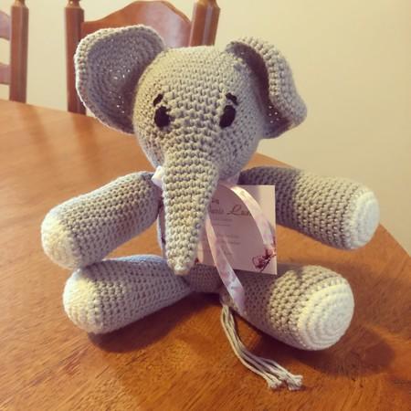 Cotton Baby Elephant