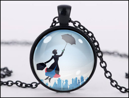 :: CLEARANCE :: MARY POPPINS PENDANT