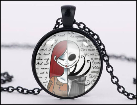:: CLEARANCE :: JACK & SALLY PENDANT