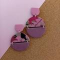PINK LINK- PINK PARADISE- SPLIT CIRCLE