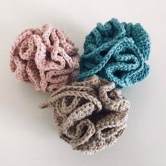 Eco friendly | Crochet bath pouf | Organic cotton | Bathroom | Gift idea