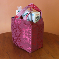 Reusable, Reversible Shopping bag/tote