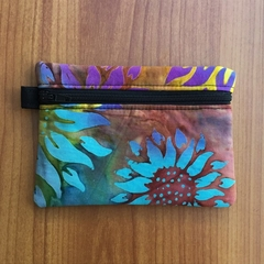 Sunflower Batik Coin Purse