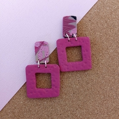 PINK LINK- PINK PARADISE- SQUARE CUT OUT