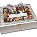 'Our Journey' Collage Photo Keepsake Memory Wedding Wooden Box