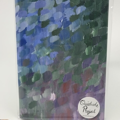 Abstract Reflections 1 - A5 Note Book (plain pages)