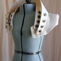 Creamy Gold Steam Navigation Capelet Tailor-Made