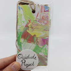 Hand Painted Gift Tags - Pack of Ten - Fairy Floss Candy Store