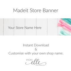 Madeit Store Banner - Zips