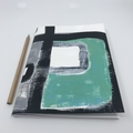 Square Study 2 - A5 Unlined Notebook