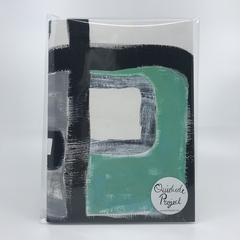 Square Study 2 - A5 Unlined Notebook - N5P