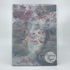 Floral textures - A5 Plain Notebook - A5 Journal