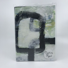 Square Study - A5 Unlined Note Book