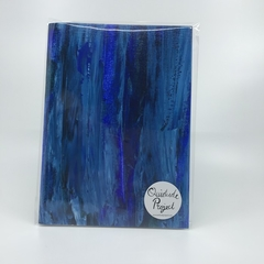 Blue - A5 Plain Notebook -N3P
