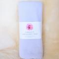 Flannelette baby blanket / wrap - girl