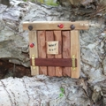 Rustic 'Keep Out' Wilderness Troll/Fairy Door